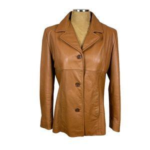 VTG Wilsons Leather Saddle Brown Leather Jacket